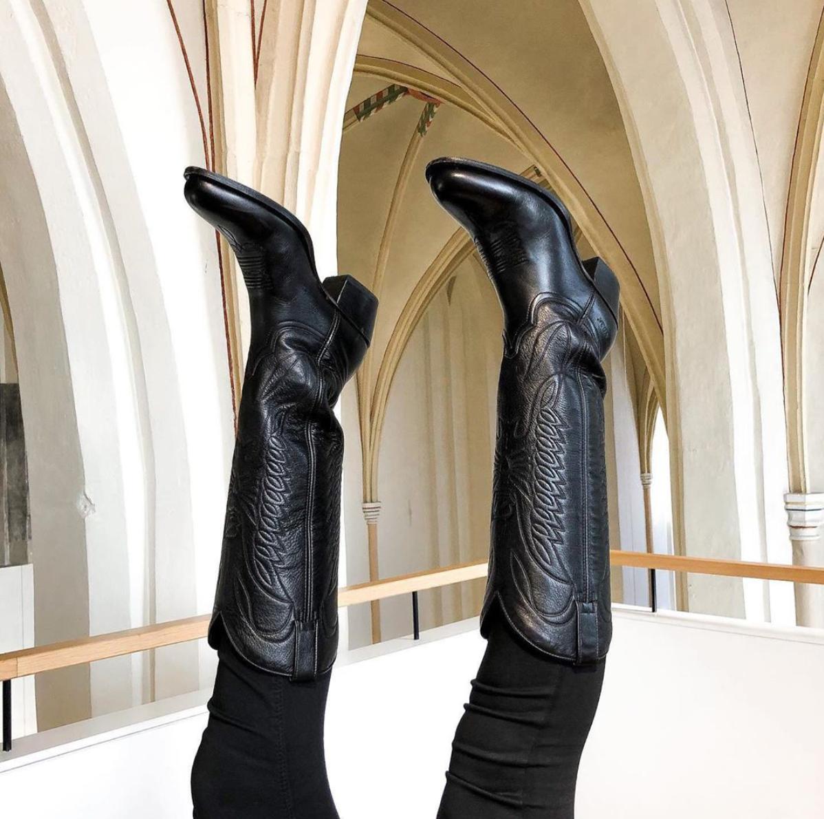 zwart ankle walking laarzen