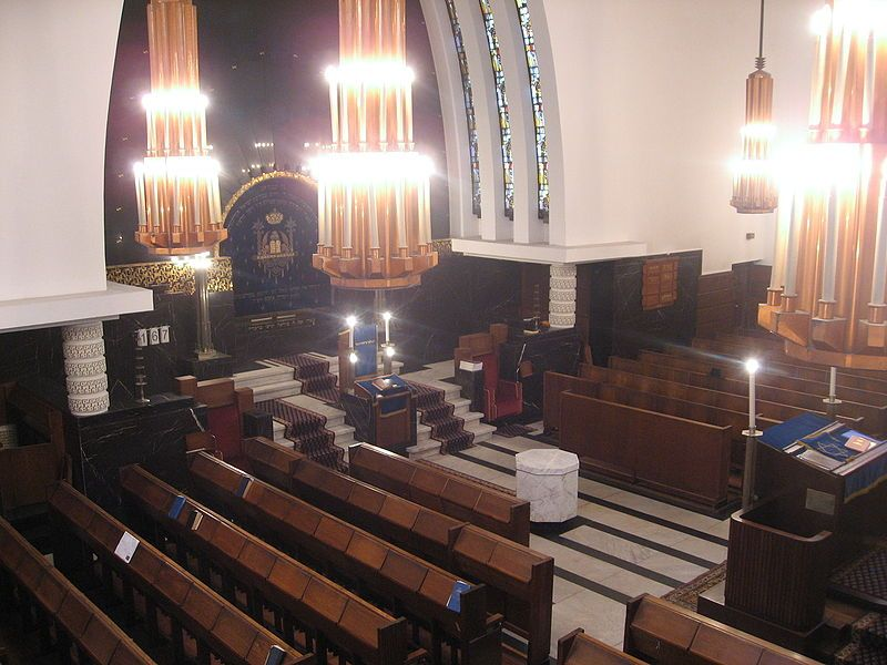 RAS sjoel 2 - Raw Aron Schuster Synagoge - Wikipedia