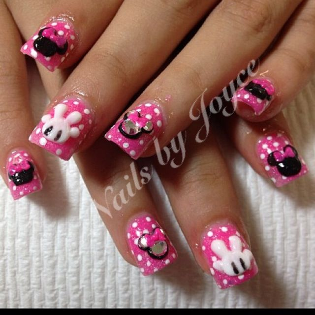 Minnie Mouse | Guardados rápidos | Pinterest | Uñas disney, Galaxias ...