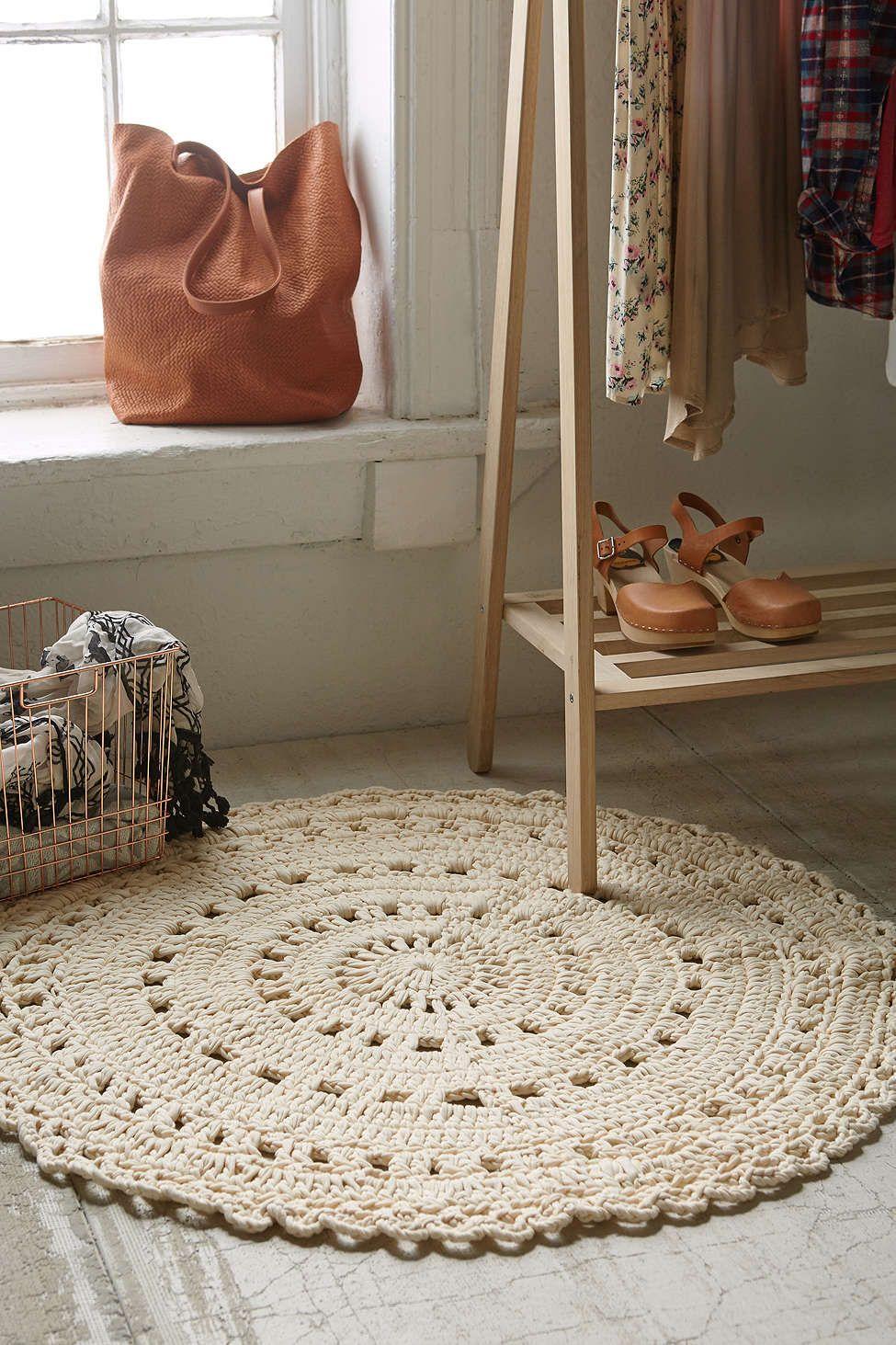 Ansel Crochet Rug Crochet Rug Diy Knitting Rugs