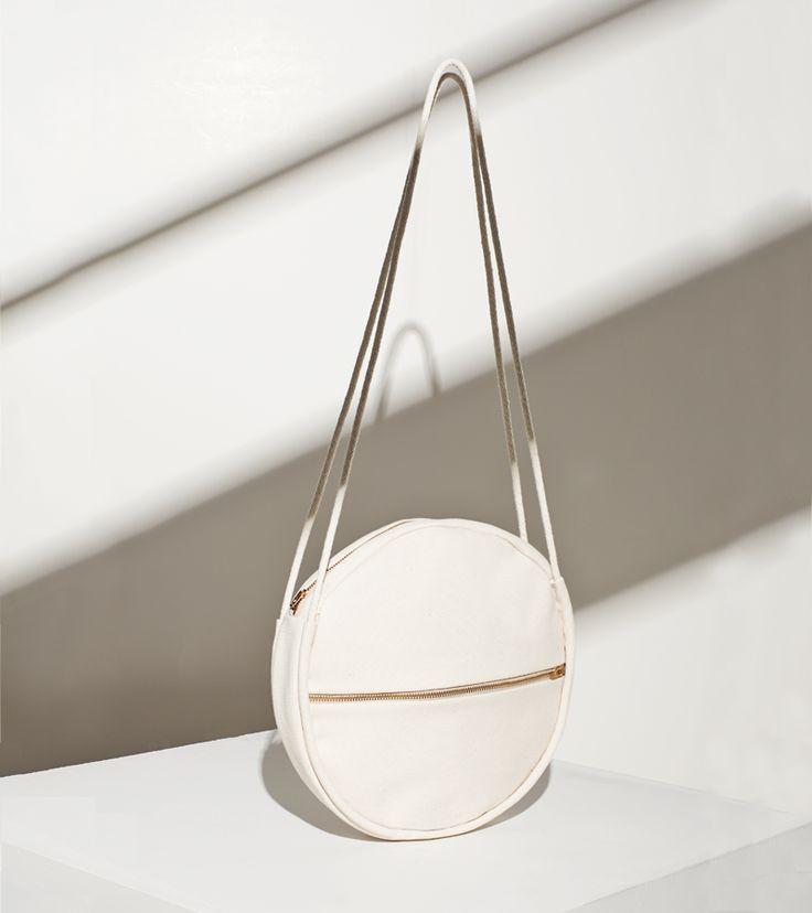 Circle Bag - chic minimalist accessories // Lotfi: