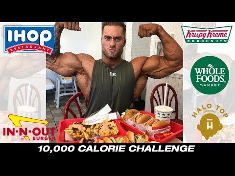 10,000 Calorie Challenge | Post Olympia EPIC Cheat Day