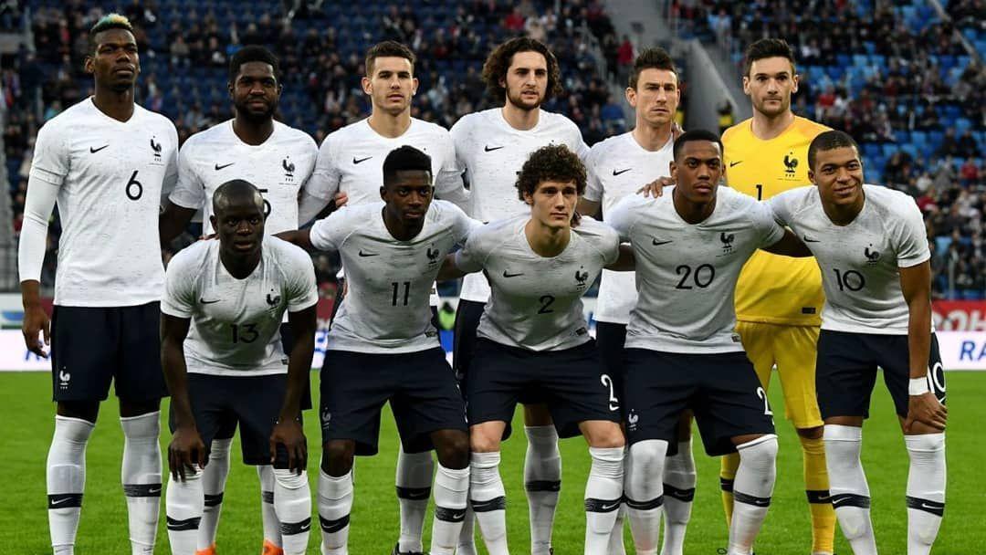 Team France Current Fifa Ranking 7 Previous World Cup Appearances 14 1930 1934 1938 1954 1958 1966 1978 1982 1 Antoine Griezmann Didier Deschamps World Cup