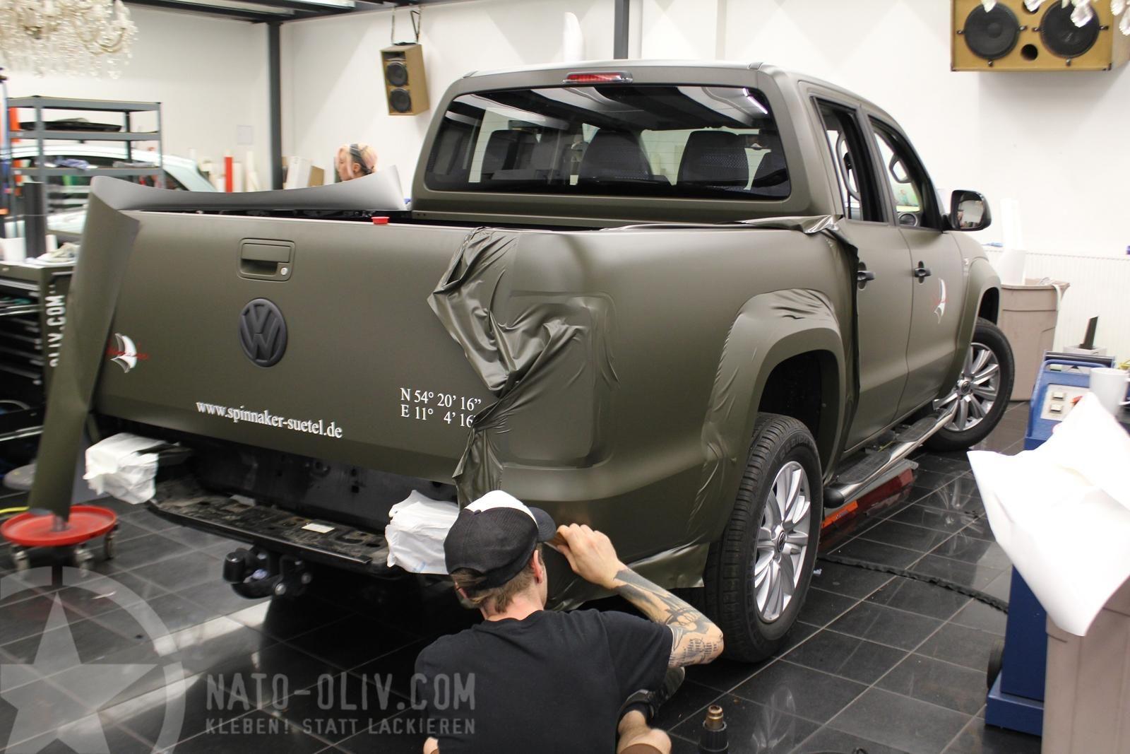 VW AMAROK IN NATO-OLIV MATT | Nato-Oliv.com | autos | Pinterest ...