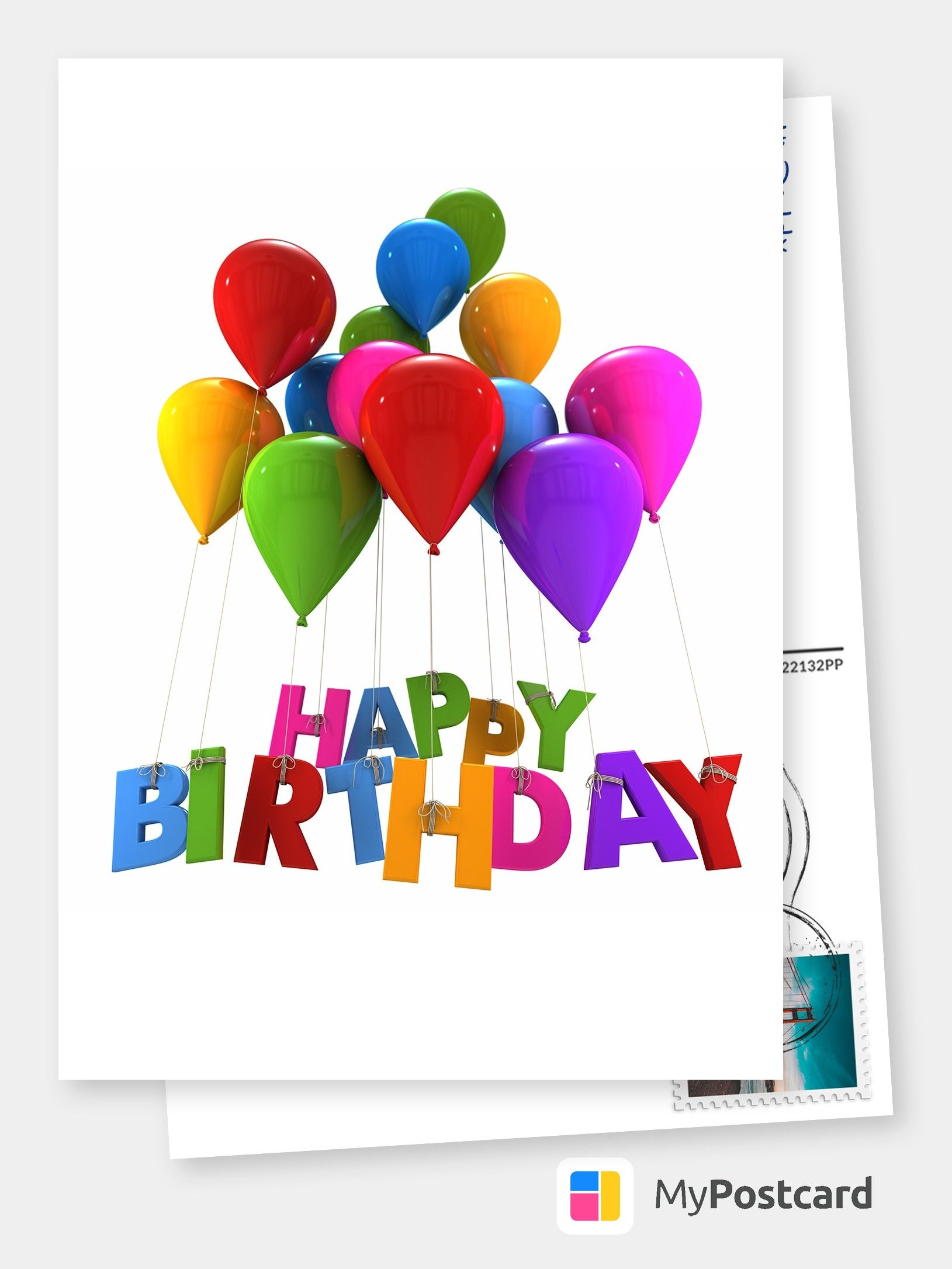 Personalized Happy Birthday Cards Online Printed Mailede For You International Free Shipping Postage Delivery Photo Cards Postcards Greeting Card Birthday Card Online Happy Birthday Cards Happy Birthday Cards Online