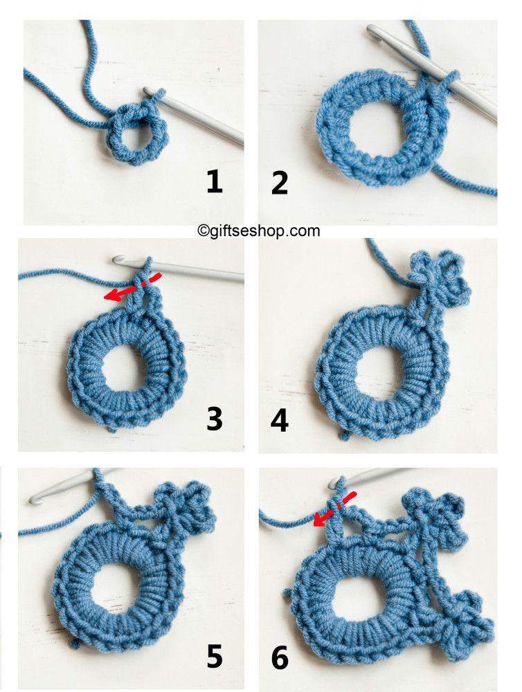 crochet snowflake pattern, Christmas tree decoration | crochet ...