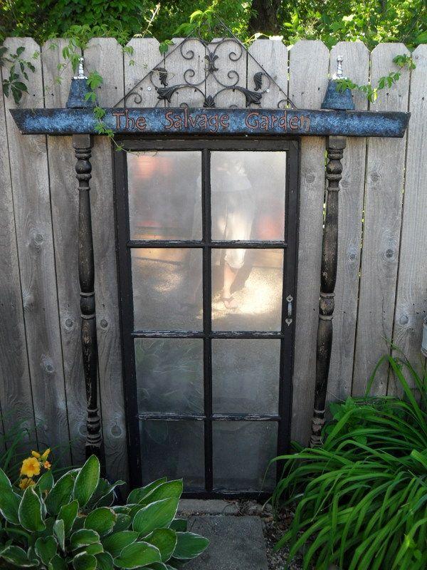 Garden Door To Nowhere on