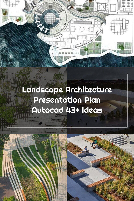 Landscape Architecture Presentation Plan Autocad 43 Ideas