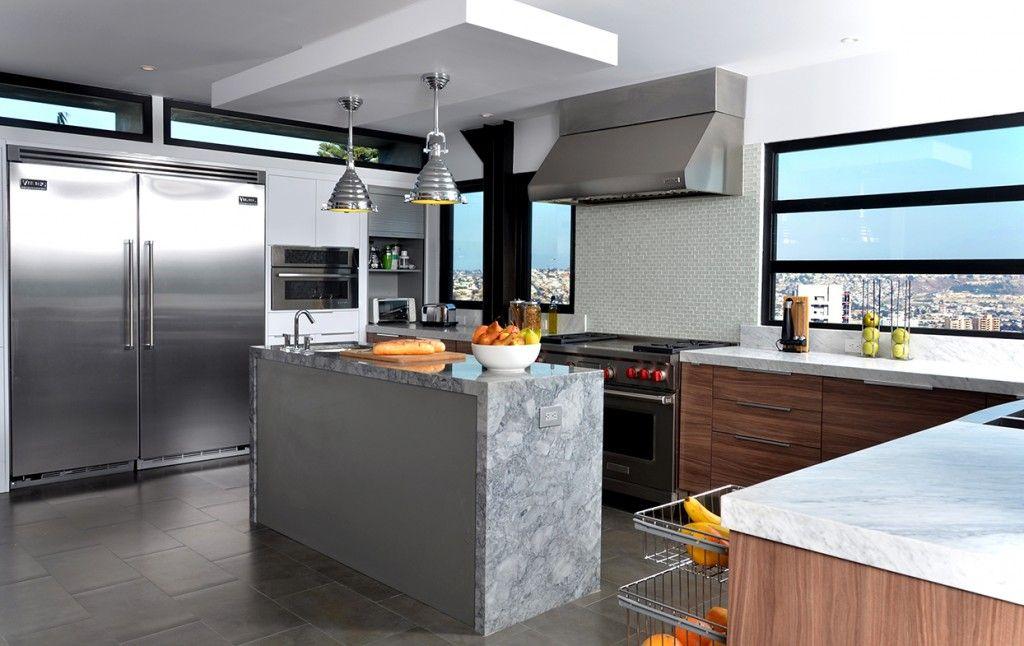 cocina-con-isla-de-estilo-moderno4.jpg (1024×646)   Cocina con isla ...