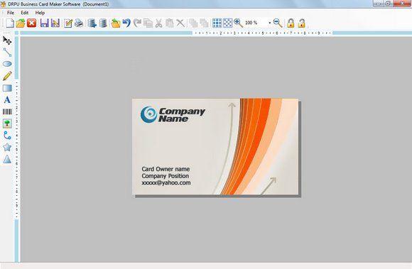 Download Efficient Business Cards Designer Software That Produces Bulk Amount Of Colorful A Best Visiting Card Designs Business Card Maker Visiting Card Design