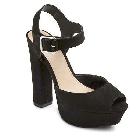 51327a7c68f Women s Coco Platform Heel - Mossimo™   Target THE MOST COMFORTABLE HEELS I HAVE  EVER WORN!!!!!!1