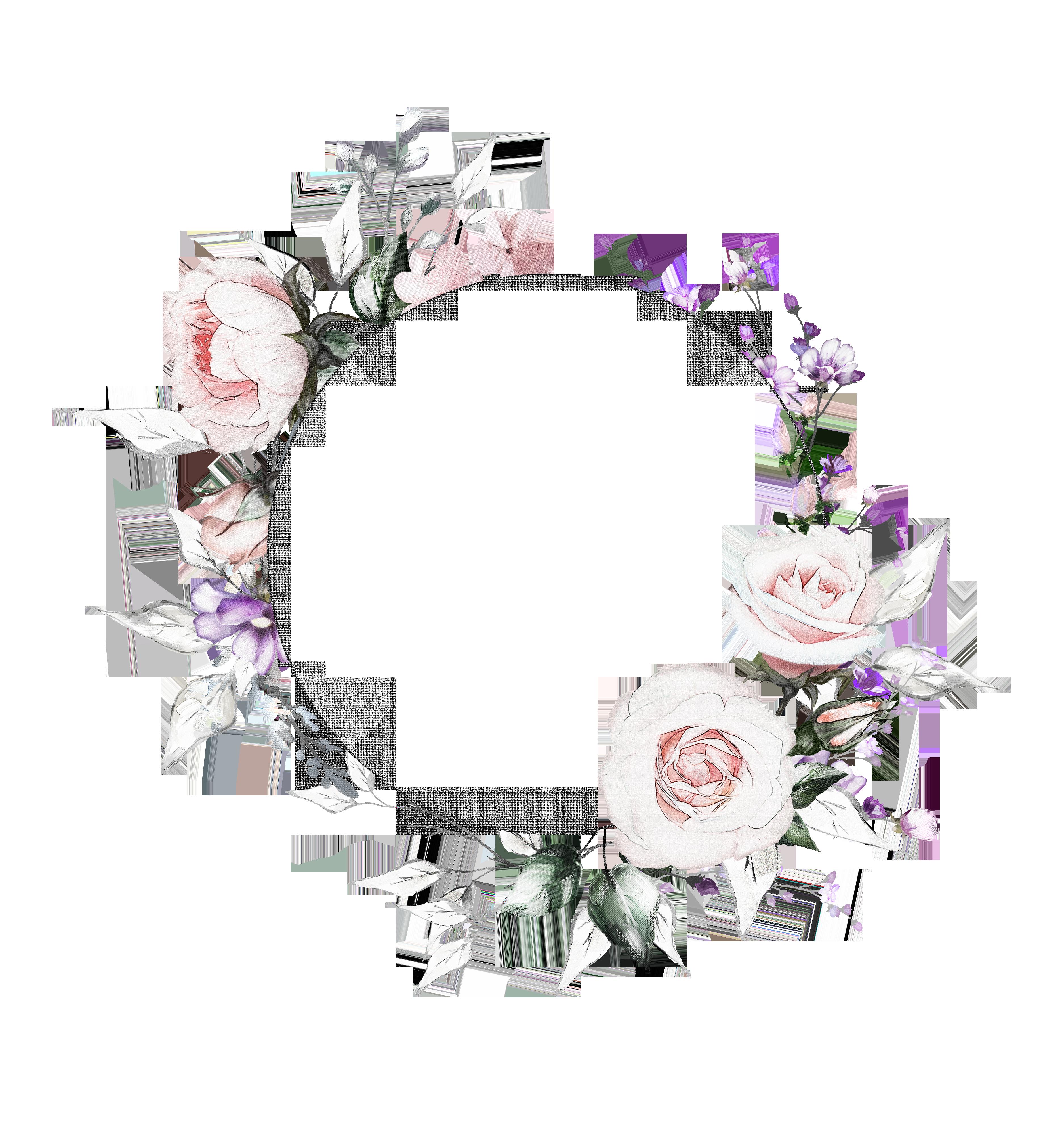 H927 (37) Flower frame, Instagram highlight icons
