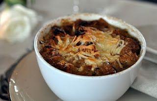 Fransk løksuppe (French Onion Soup)