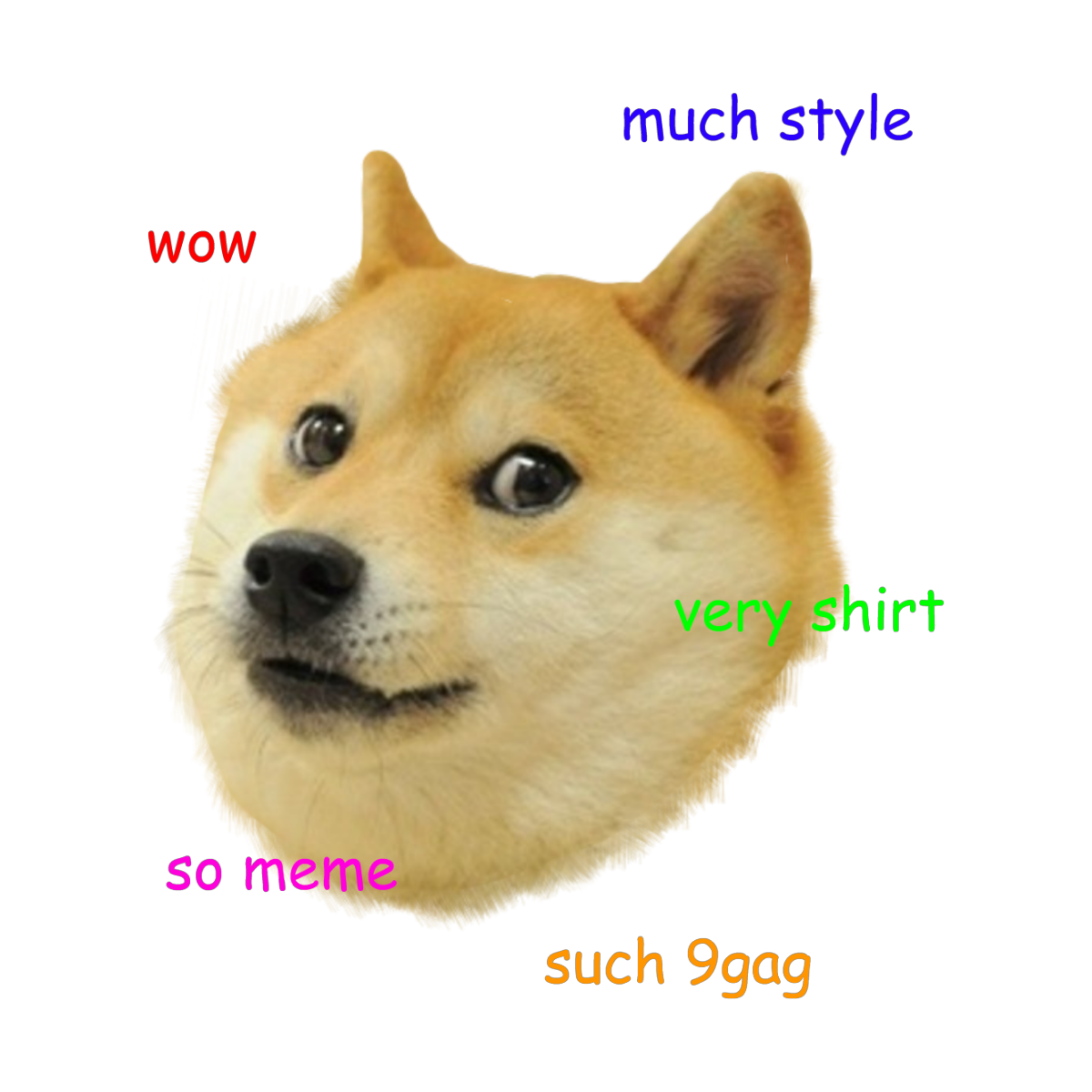 Doge Shibe Shiba Inu Meme Design 9gag Merch In 2021 Doge Shiba Inu Meme Design
