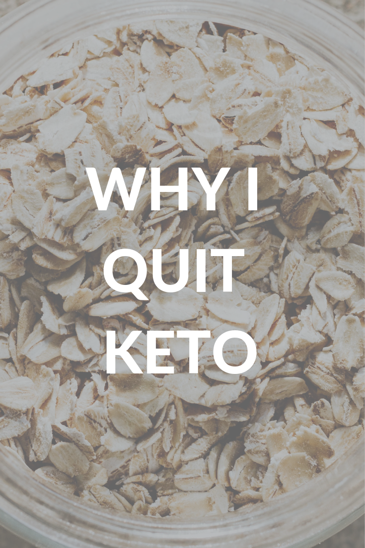 Why I Quit Keto - The Dangerous Truth | Keto calculator ...