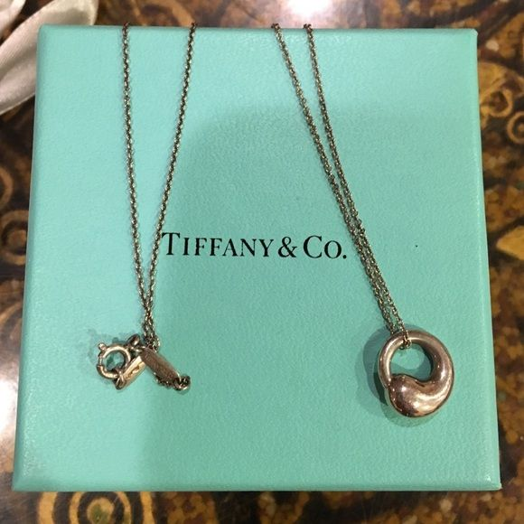 Tiffany co eternal circle elsa peretti and half price tiffany co eternal circle mozeypictures Image collections