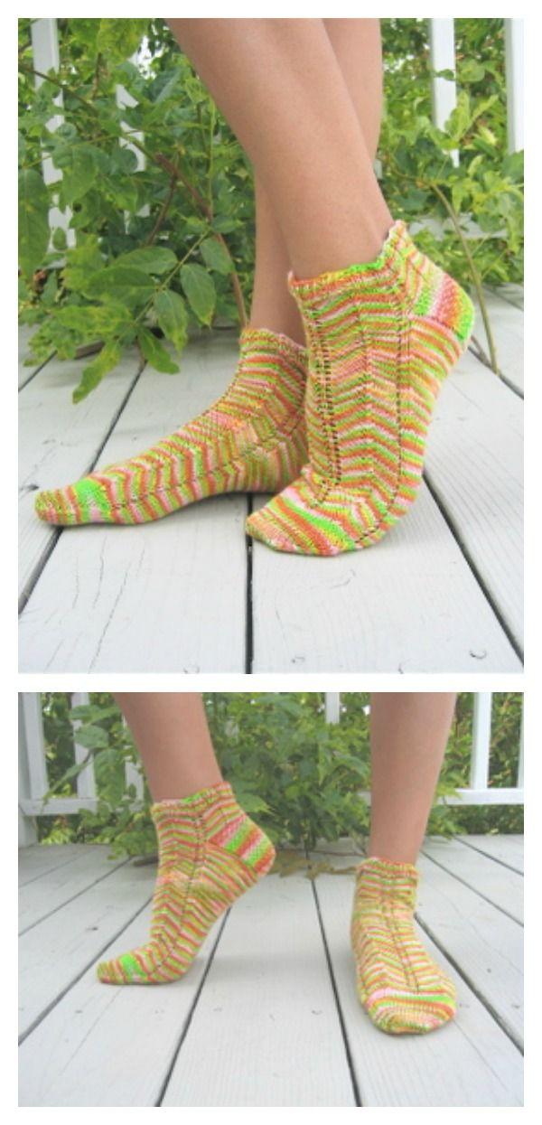 Free Knit Ankle Sock Patterns Knit Patterns Patterns And Socks