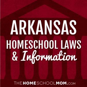 Homeschooling in Arkansas Homeschooling in california