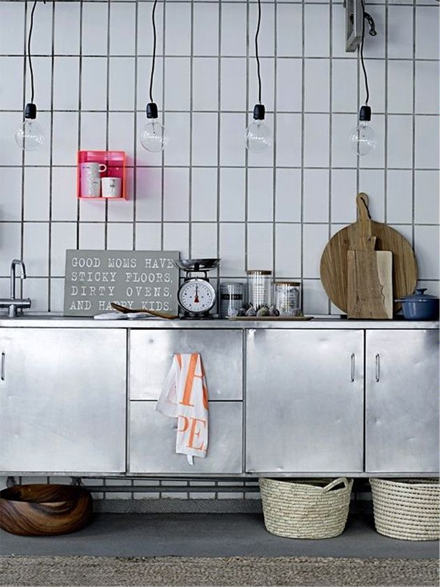 Vertical Subway Tile a new take on standard subway tile | kitchen industrial