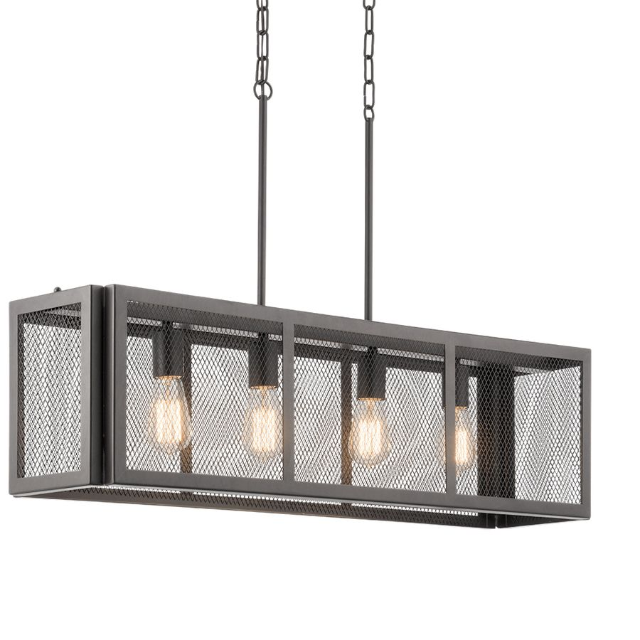 Kichler Lighting Saybridge W Bronze Pendant Light With Metal Shade