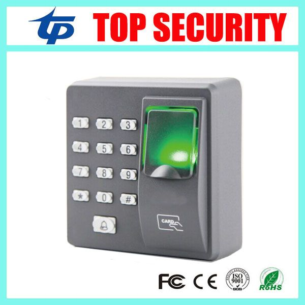 ZK fingerprint access control system with RFID card reader dustproof