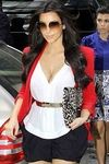 The Rebecca Minkoff Becky Jacket in Red, as seen on Kim Kardashian $379.00