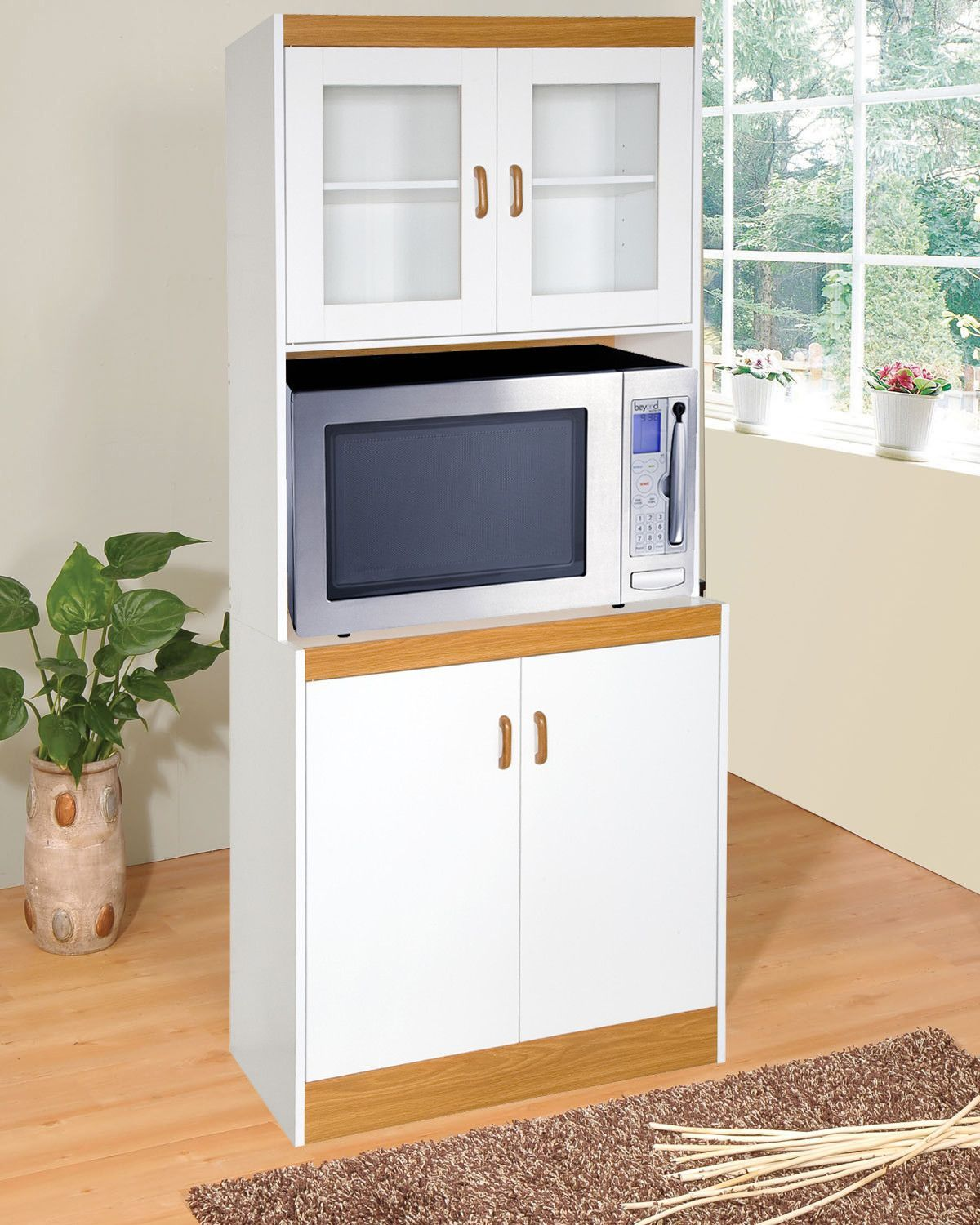 Elva Microwave Cart | Products | Pinterest