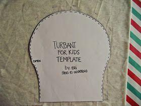 Llevo el invierno: M.a.k.e. Turban for kids !