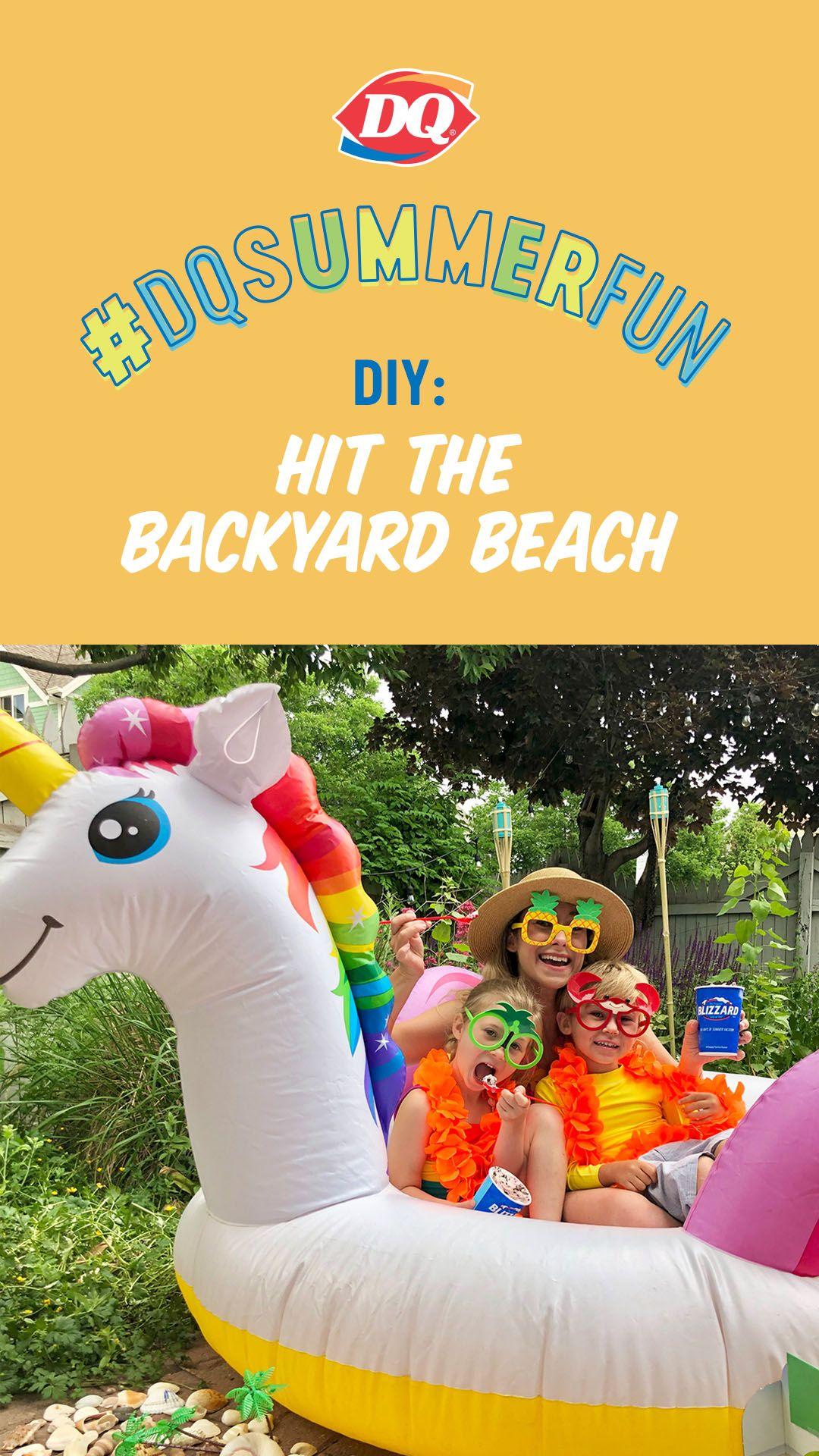 DIY: Backyard Beach in 2020 | Backyard beach, Backyard ...