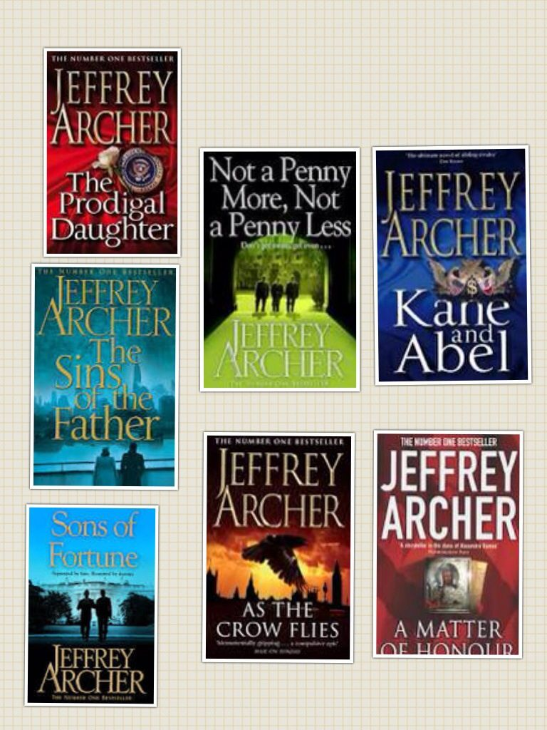 Jeffrey Archer Libros I Love All His Books Books Worth Reading Jeffrey Archer Books