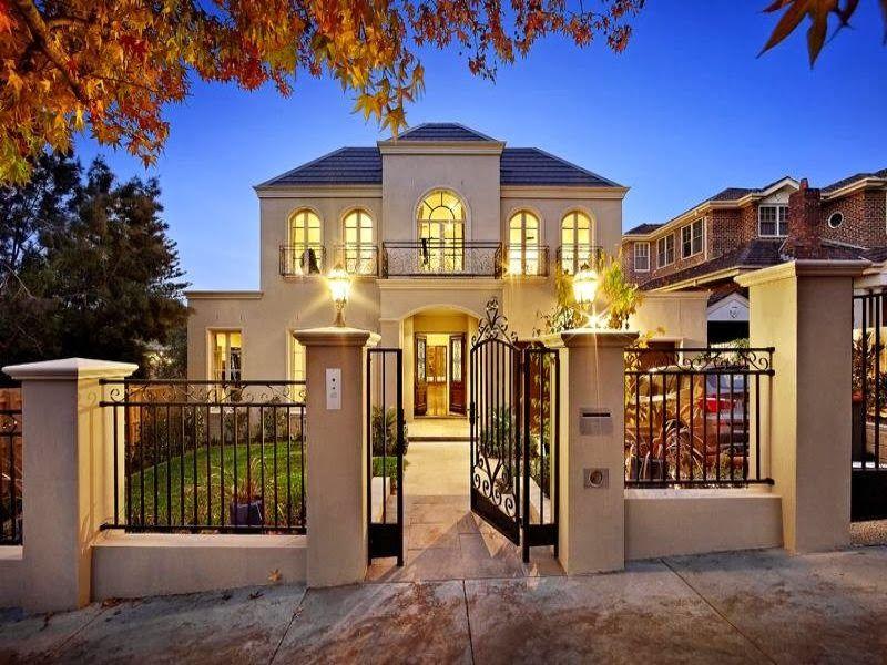 Dise o de interiores arquitectura fachadas de casas - Diseno casas rusticas ...