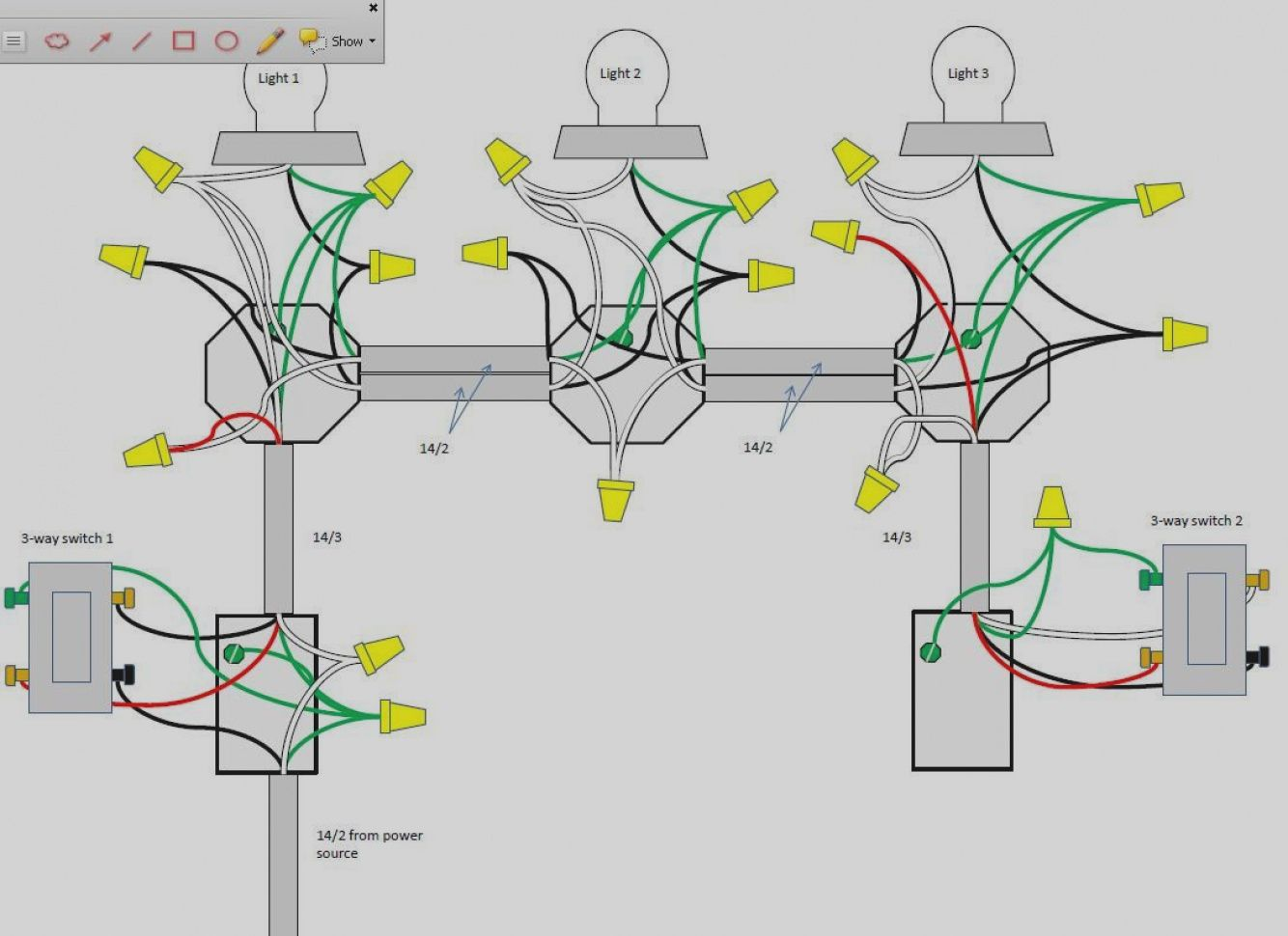 Diagram 4 Way Switch Wiring Diagram Multiple Lights How Wire Full Version Hd Quality How Wire Ductdiagram Eyepower It