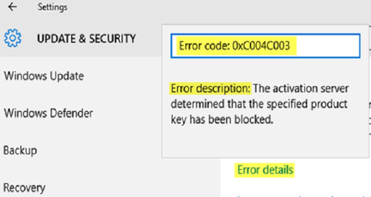 Procedure to Remedy Error Code 0XC004F009 in Windows10 | Quick