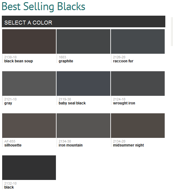 Best Selling Colors Benjamin Moore Black Paint Color Paint Colors For Home Perfect Paint Color