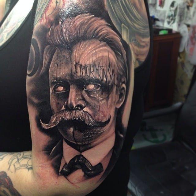 12 Nihilist Friedrich Nietzsche Tattoos Tattoos Philosophy Tattoos Cool Tattoos