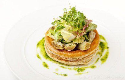 Queen Anne S Artichoke Tart Recipe Tart Recipes Food Recipes Great British Chefs