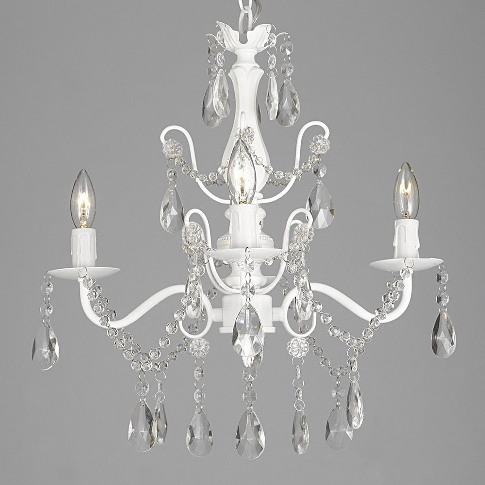 White chandeliers home goods free shipping on orders over 45 at white chandeliers home goods free shipping on orders over 45 at overstock your home goods store get 5 in rewards with club o arubaitofo Images