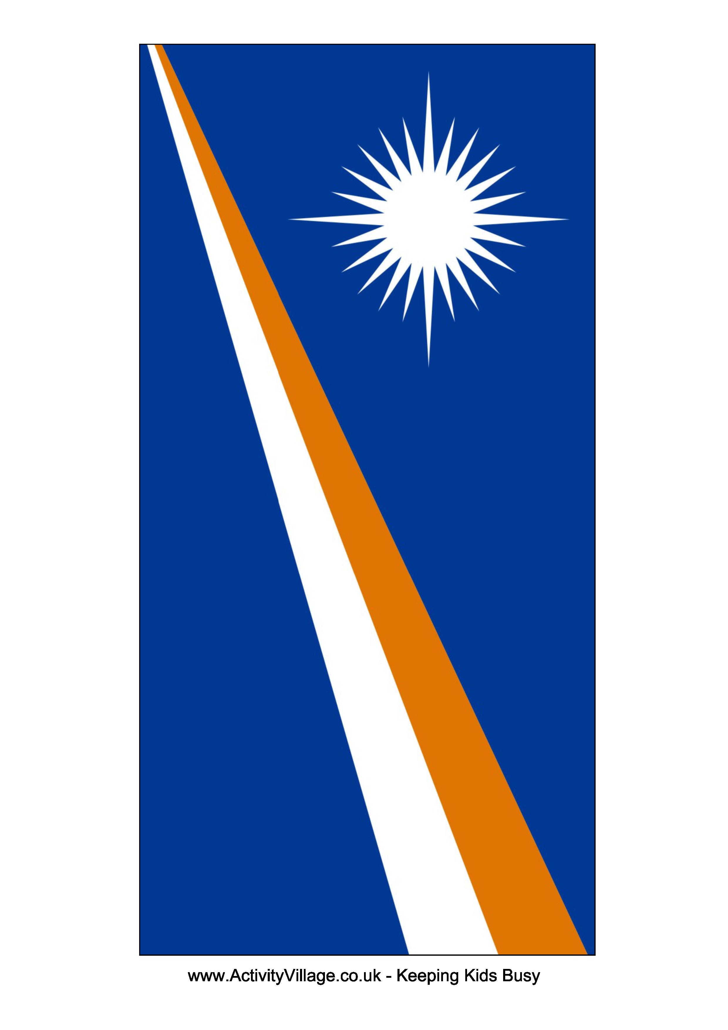 Marshall Islands Flag - Download this free printable Marshall ...
