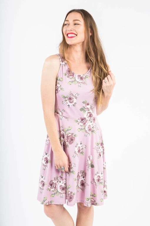 The Fisher dress is perfect for warm summer nights. Dress up or dress down.