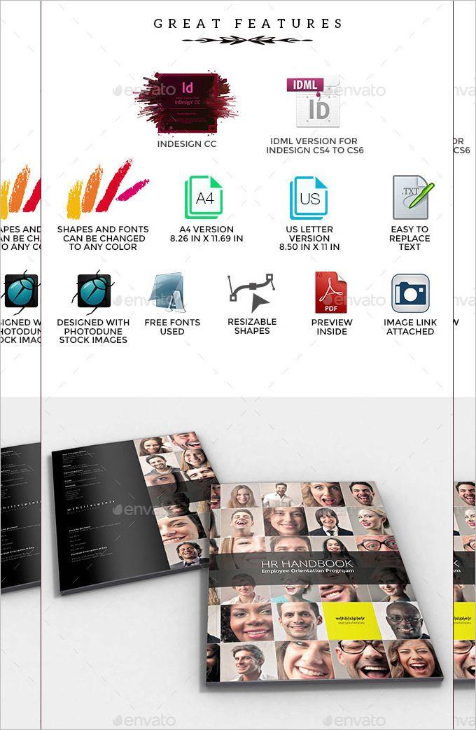13+ Employee Handbook Templates Word, Excel  PDF Templates www