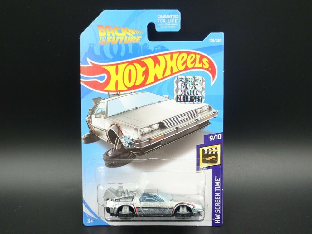 2019 HOT WHEELS SUPER TREASURE HUNT BACK TO THE FUTURE