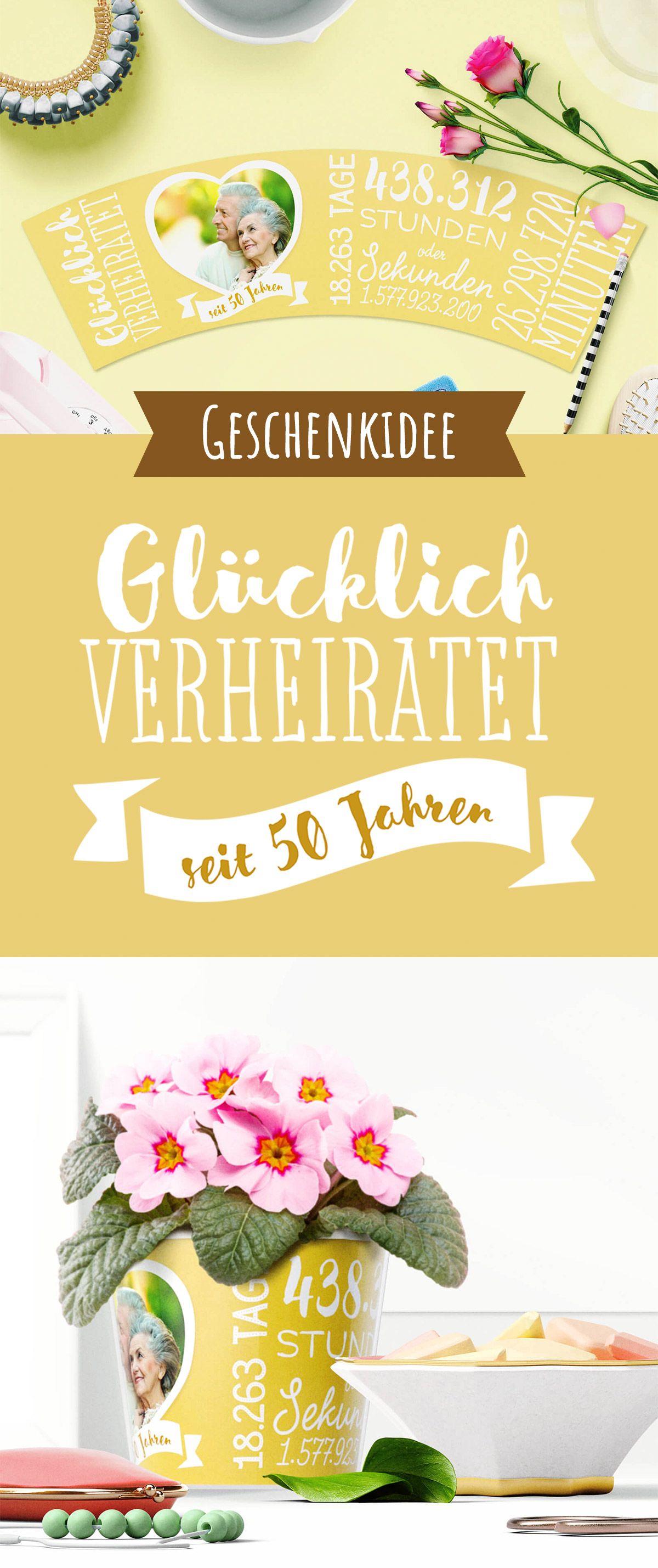 50 Hochzeitstag Goldene Hochzeit Geschenk Zum 50