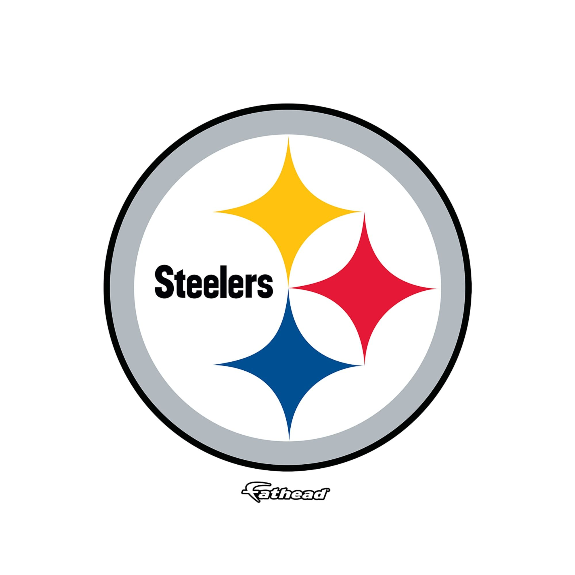 Pittsburgh Steelers Logo Large Officially Licensed Nfl