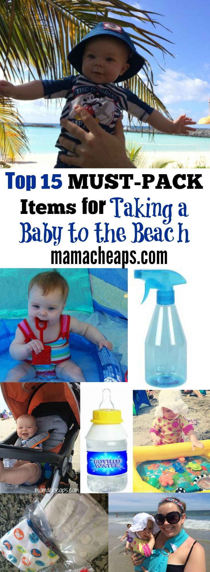 15 MUST-PACK Best Baby Beach Gear Items