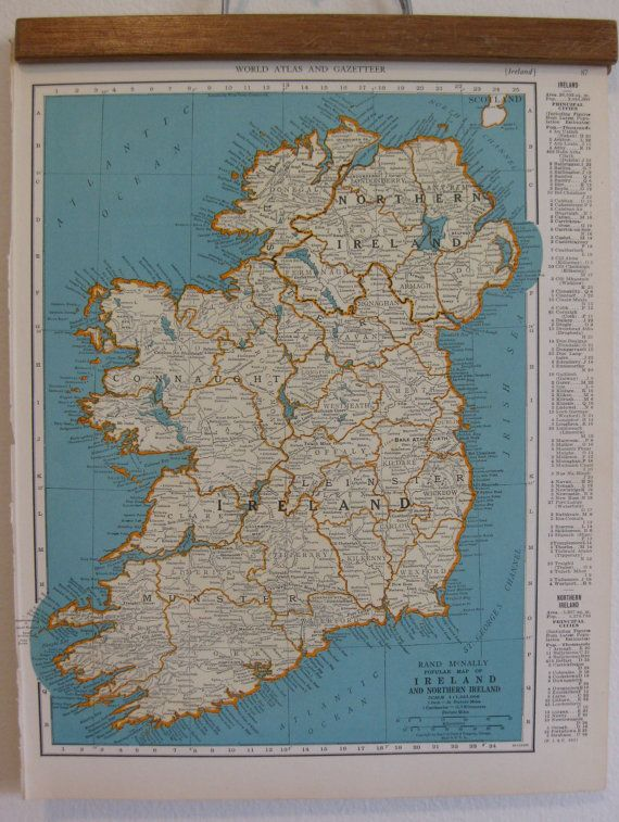 Old map of ireland denmark and iceland from the colliers world old map of ireland denmark and iceland from the colliers world atlas and gazetteer gumiabroncs Images