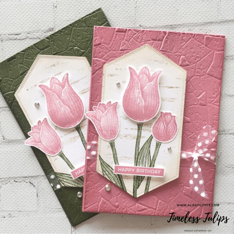 Timeless Tulips Birthday Cards - Alisa Tilsner