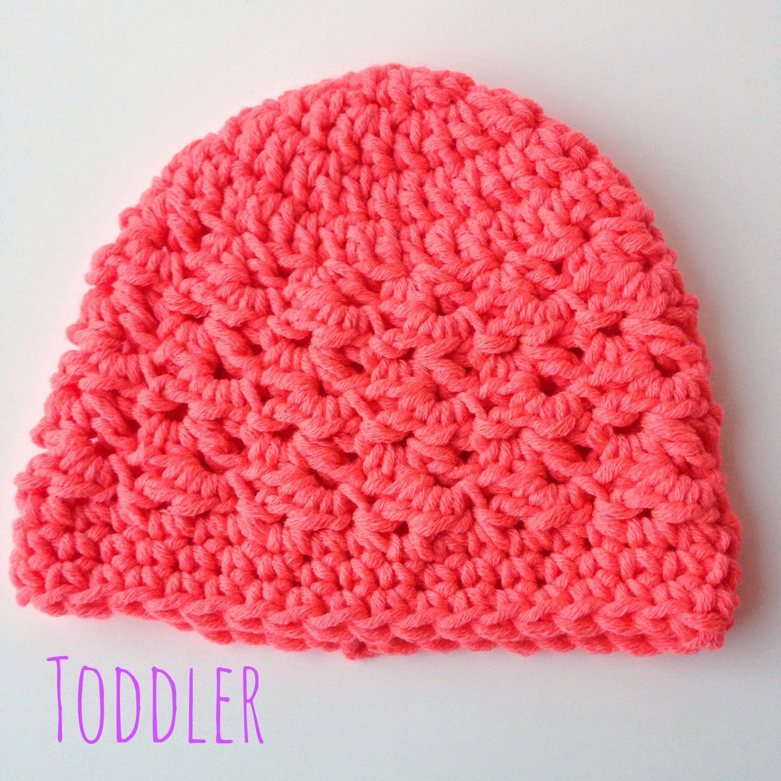 5 Little Monsters: Textured Toddler Beanie: Free Crochet Pattern ...