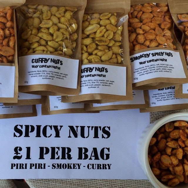 They are some spicy nuts! by the smokey Carter #curry #nuts #piripiri