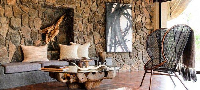 ESTILO RUSTICO: rustico africano