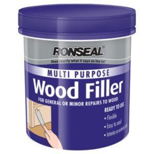Ronseal Wood Filler 465gdark Wood Repair Wood Health Safety